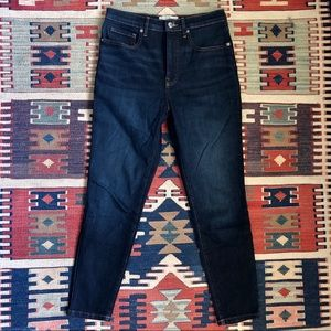 Everlane High Rise Skinny Jean ankle length